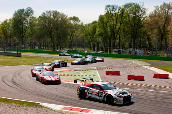 Competitie NISMO GT Academy grid