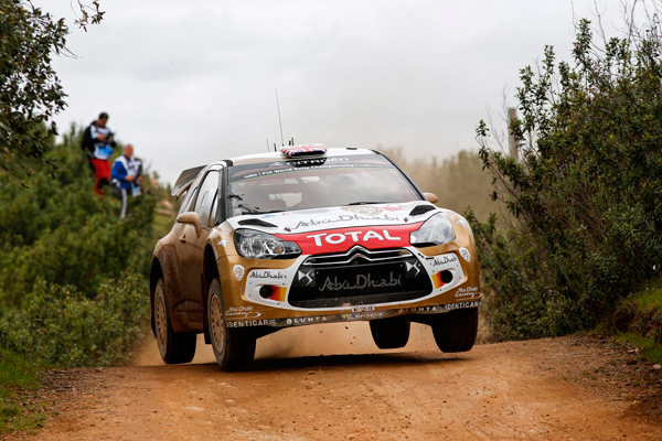 Citroen Rally Kris Meeke