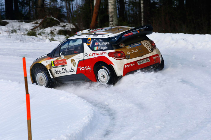 Citroen DS3 Rally Kris Meeke
