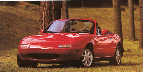 Mazda MX-5 1st Forest