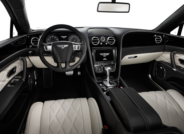 Bentley Flying Spur V8 interieur