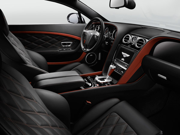 Bentley GT Speed interieur