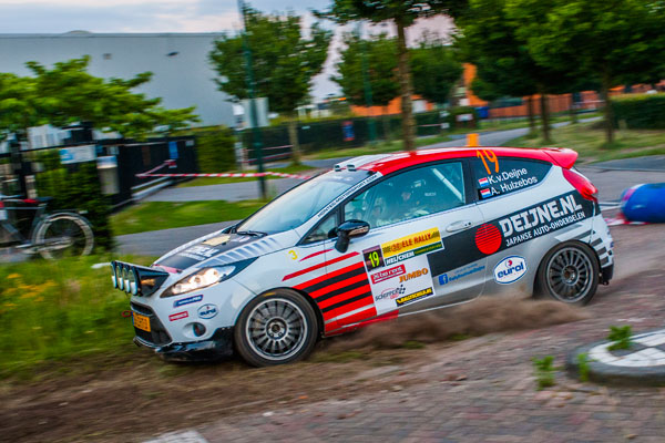Ford Fiesta Trophy ELE rally action