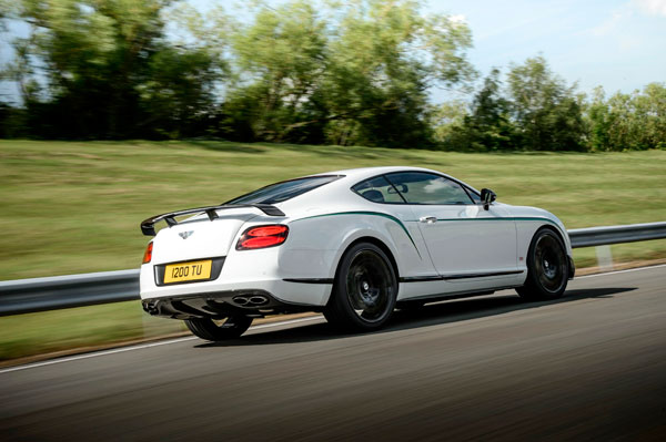 Bentley Continental GT3-R dynamic back