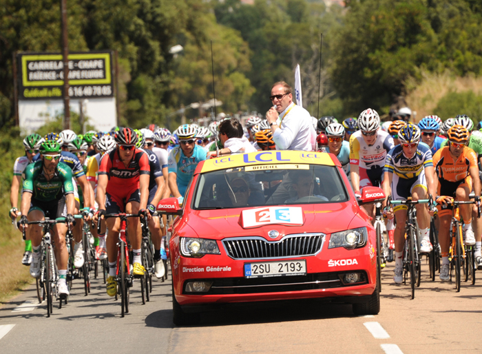SKODA Partner Tour de France tot 2018 header