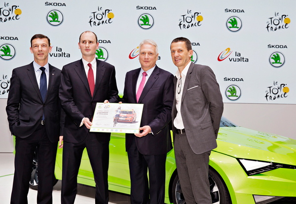 SKODA Partner Tour de France tot 2018 presentation2