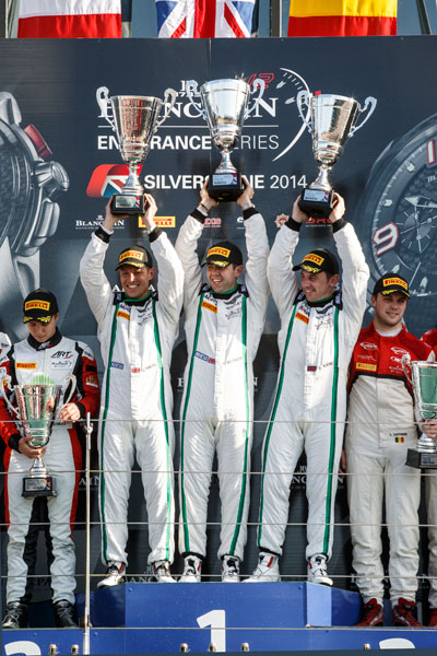 Bentley GT3 Silverstone podium