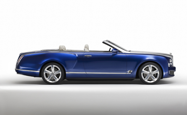 Bentley Grand Convertible side