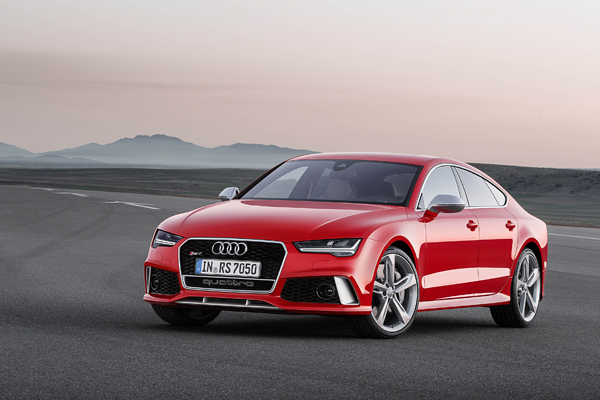 Audi RS-7 Sportback front