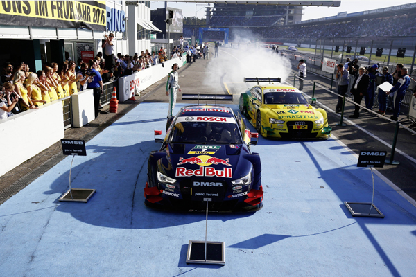 Audi beste merk DTM 2014 after finish