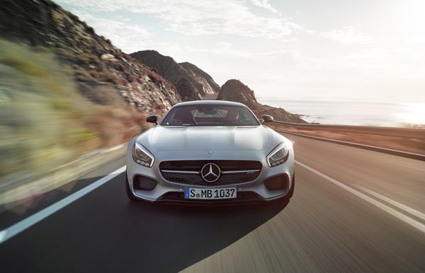 Nieuwe Mercedes Amg Gt Driving Performance Voor