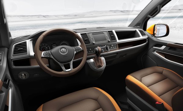 Volkswagen Tristar side interieur