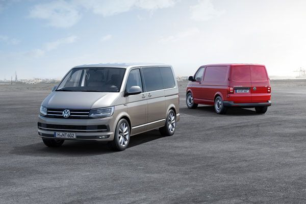 Nieuwe Volkswagen T6 old and new