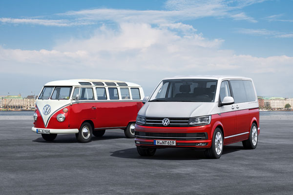 Nieuwe Volkswagen T6 old and new2
