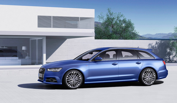 Audi A6 Avant Automatic Edition side
