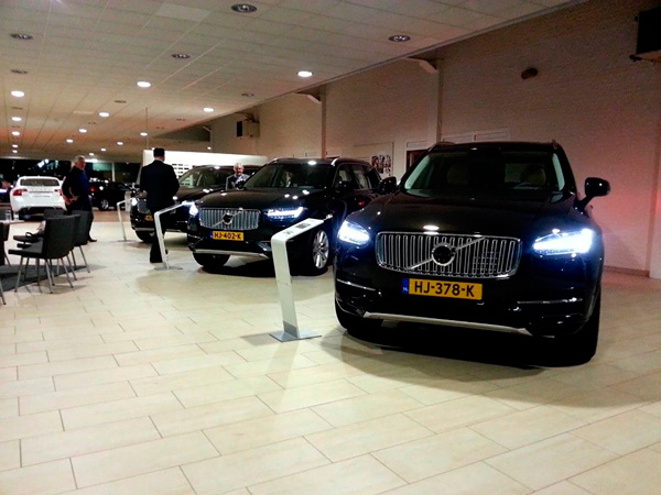 Volvo recordjaar showroom