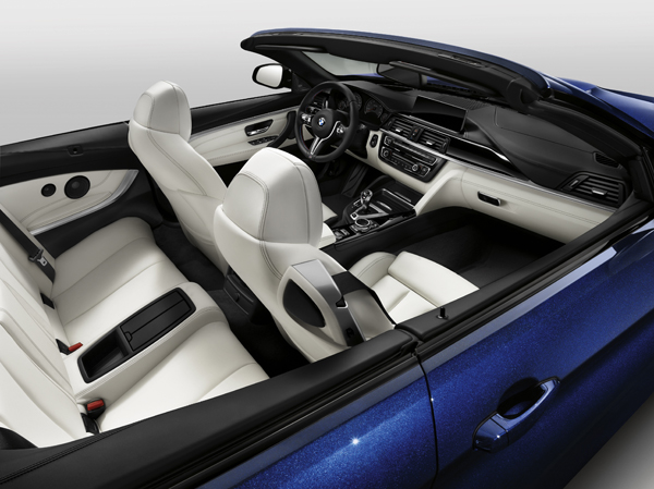 BMW M4 Convertible Individual interieur