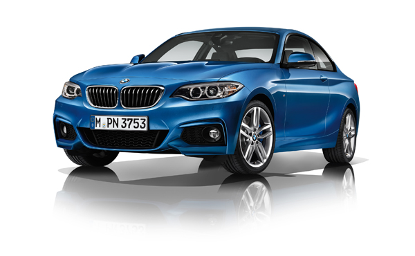 New BMW 2 Series Coupe with M Sport Package