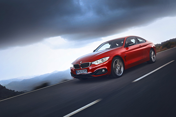 New BMW 4 Series Coupe sport line