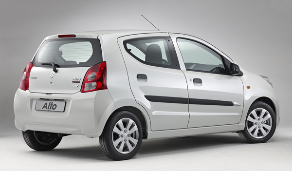Suzuki Alto Celebration back