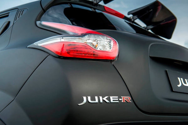 Nissan Juke-R back detail