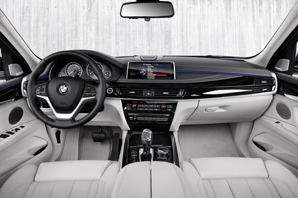 BMW X5 xDrive40e interieur