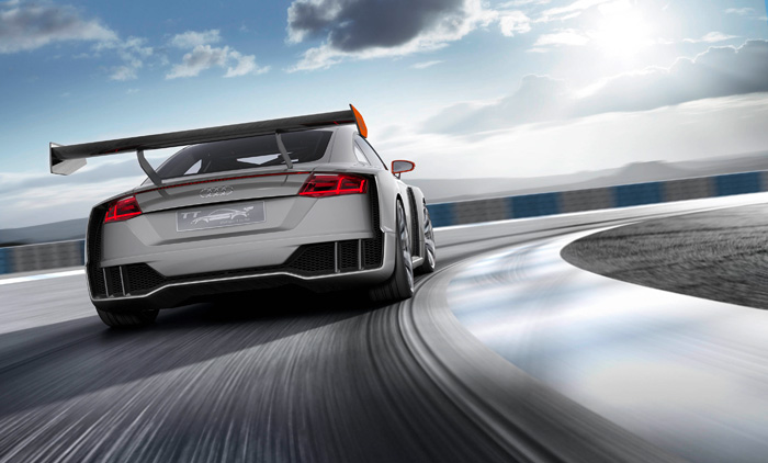 Audi TT clubsport turbo concept header