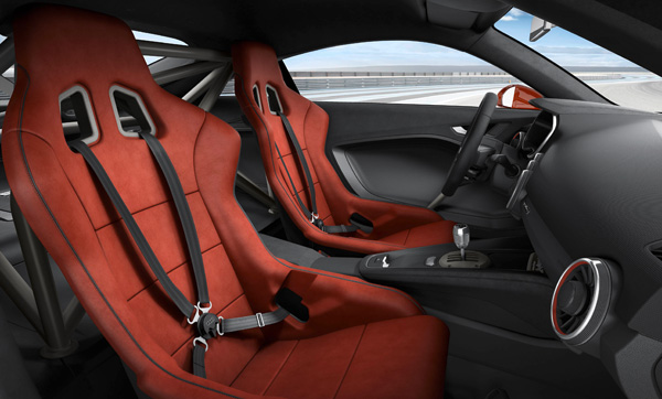 Audi TT clubsport turbo concept interieur