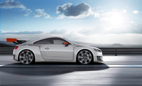 Audi TT clubsport turbo concept side