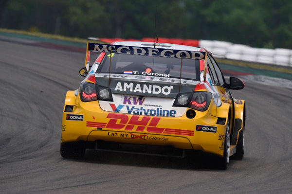Tom Coronel WTCC Nurburgring 2015 back action2