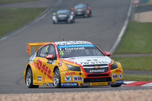 Tom Coronel WTCC Nurburgring 2015 front action