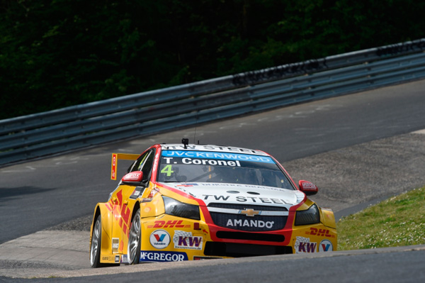 Tom Coronel WTCC Nurburgring 2015 front action3