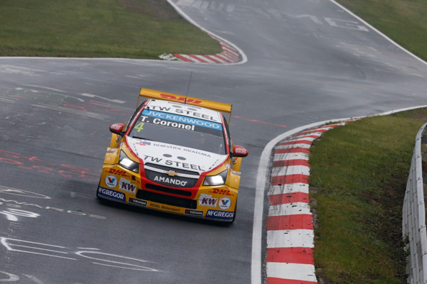 Tom Coronel WTCC Nurburgring 2015 top front