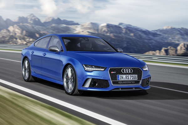 Audi RS7 Sportback performance dynamic front