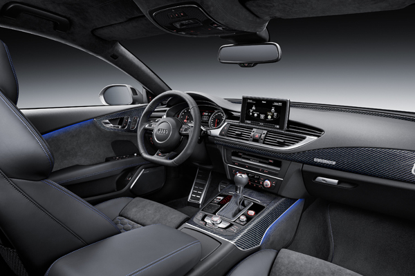 Audi RS7 Sportback performance interieur