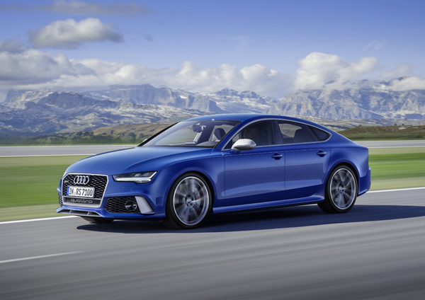 Audi RS7 Sportback performance side