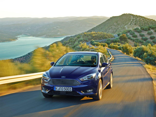 Nieuwe Ford Focus front