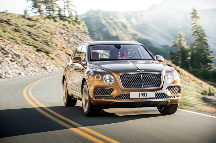 Bentley Bentayga header