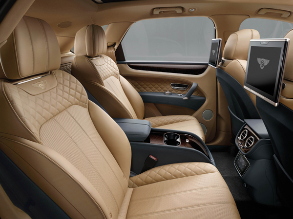 Bentley Bentayga interieur2