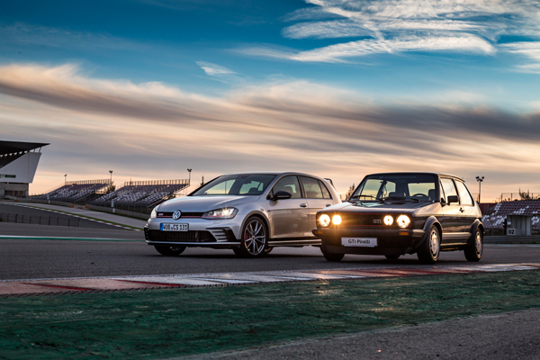 VW Golf GTI Pirelli vs VW Golf GTI Clubsport
