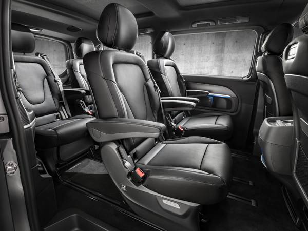 Mercedes-Benz AMG Line V-Klasse backseat