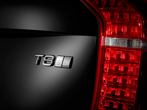 Volvo XC90 Excellence back badge