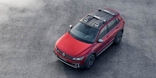 VW Tiguan GTE Active Concept top