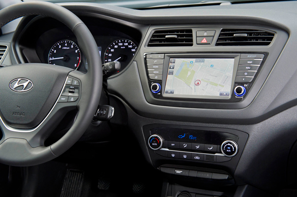Hyundai i20 t gdi combineert raffinement met rendement for Interieur hyundai i20