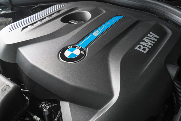BMW eDrive engine