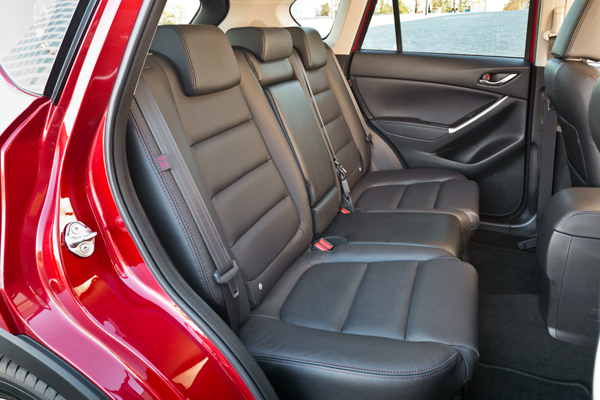 Mazda CX5 interior backseat