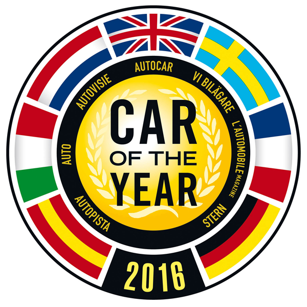 Car of the Year 2016 logo