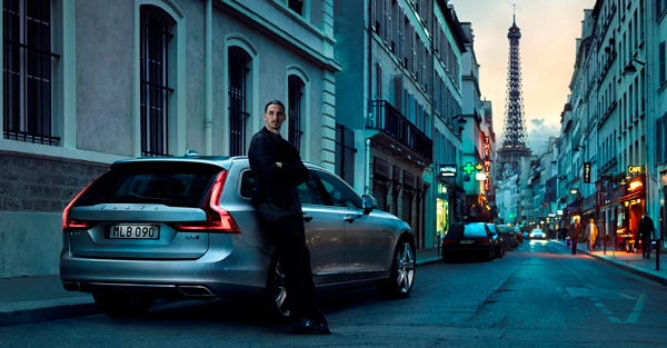 Volvo Cars new V90 campaign features footballing legend Zlatan Ibrahimovi1