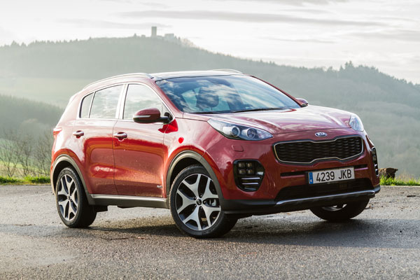 Kia Sportage Best Global Brand