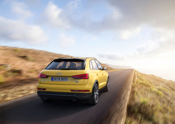 Audi Q3 3kw back dynamic